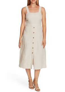 Vince Camuto Natural Linen Sundress