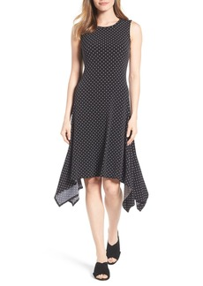 Vince Camuto Nautical Dots A-Line Dress