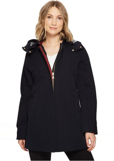Vince Camuto Nautical Inspired Trench with Contrast Piping