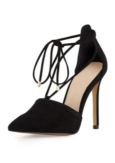 Vince Camuto Nitta Suede Pointed-Toe Pump
