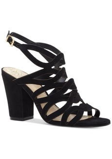 Vince Camuto Norla Strappy Block-Heel Sandals Women's Shoes