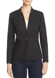 VINCE CAMUTO Notched Stand Collar Blazer