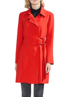 Vince Camuto O-Ring Belt Trench Coat