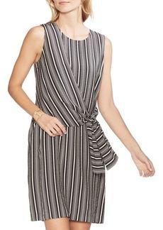 Vince Camuto Oasis Bloom Striped Shift Dress