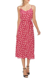 Vince Camuto Oasis Ditsy Floral A-Line Dress