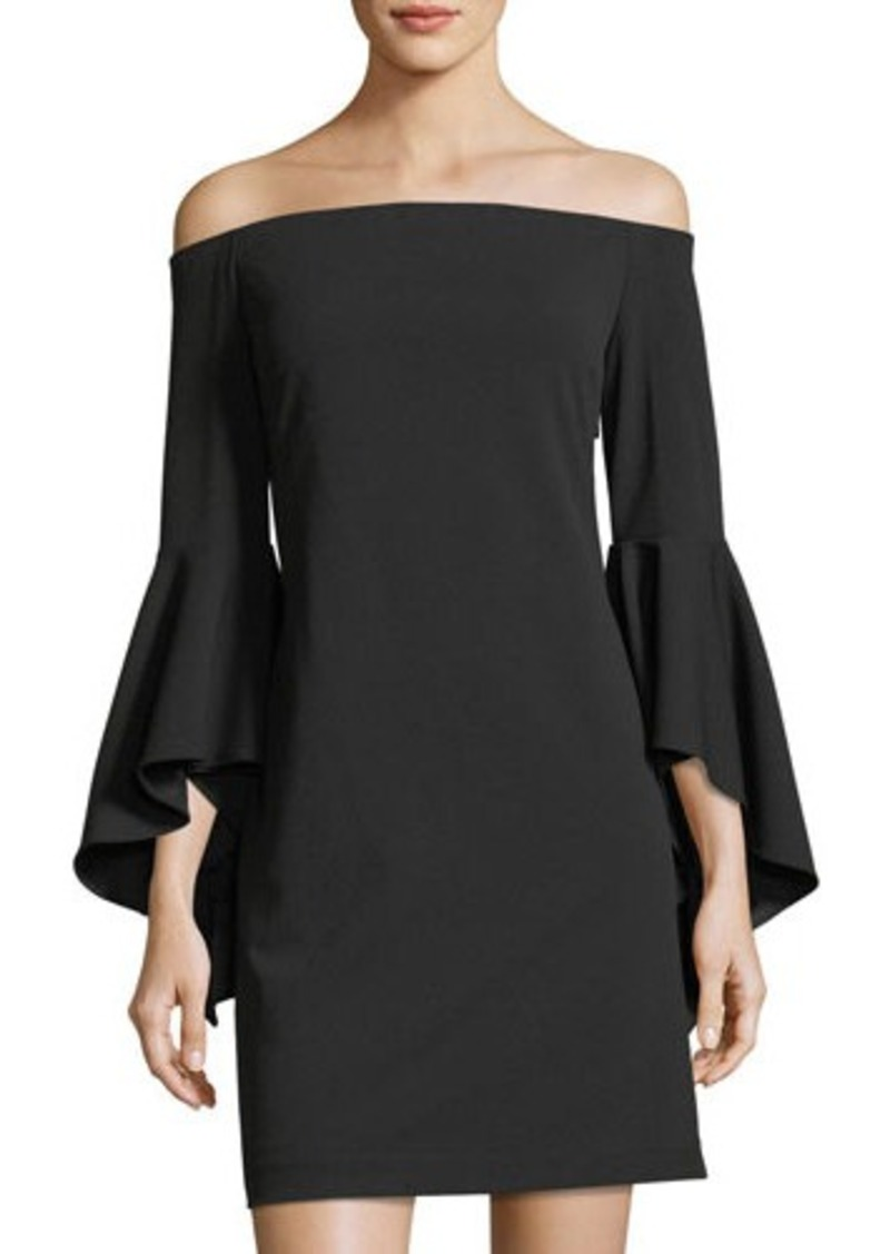 db60c6dd7ad Vince Camuto Vince Camuto Off-the-Shoulder Bell-Sleeve Dress