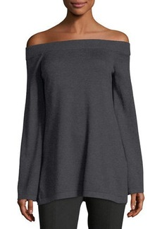 Vince Camuto Off-The-Shoulder Bell-Sleeve Sweater