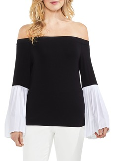 Vince Camuto Off the Shoulder Bell Sleeve Top