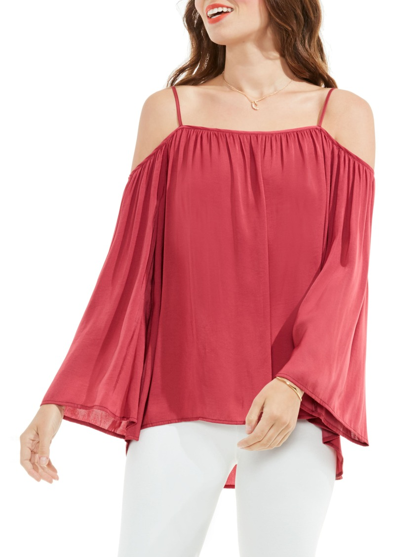 844cd36552d2 Vince Camuto Vince Camuto Off the Shoulder Blouse (Regular   Petite ...