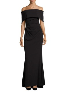 Vince Camuto Off-the-Shoulder Gown