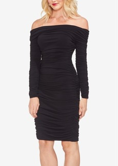 Vince Camuto Off-The-Shoulder Jersey Dress