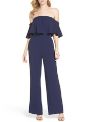Vince Camuto Off the Shoulder Jumpsuit