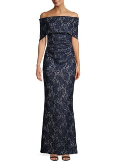 Vince Camuto Off-the-Shoulder Lace Sheath Dress