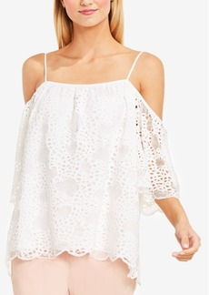 Vince Camuto Off-The-Shoulder Lace Top