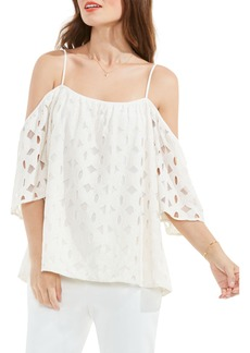 Vince Camuto Off the Shoulder Lace Top