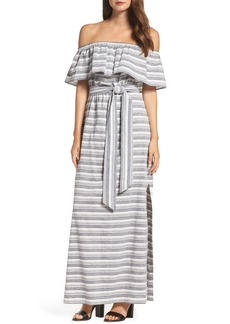 Vince Camuto Off the Shoulder Maxi Dress