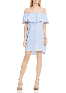 VINCE CAMUTO Off-the-Shoulder Ruffle Dress