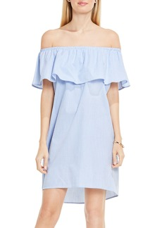 Vince Camuto Off the Shoulder Shift Dress
