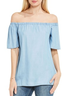 Vince Camuto Off-The-Shoulder Swing Blouse