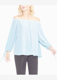 Vince Camuto Off-The-Shoulder Tie-Cuff Top, Created for Macy's