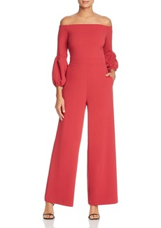 VINCE CAMUTO Off-the-Shoulder Wide Leg Jumpsuit - 100% Exclusive