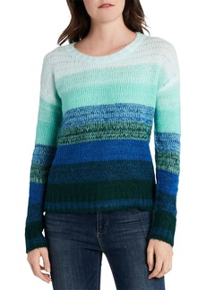 VINCE CAMUTO Ombr� Striped Sweater