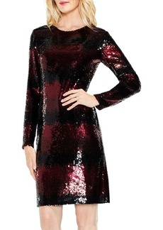 Vince Camuto Ombre Sequin Dress