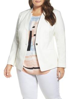 Vince Camuto One-Button Blazer (Plus Size)