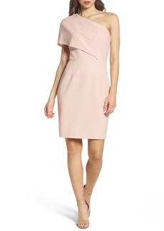 Vince Camuto One-Shoulder Body-Con Dress