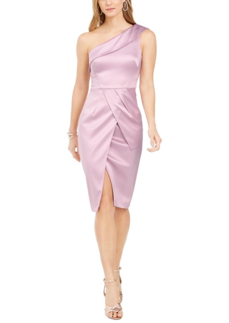 Vince Camuto One-Shoulder Cocktail Dress