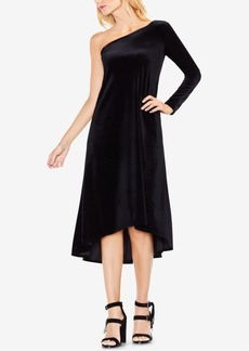 Vince Camuto One-Shoulder High-Low Dress