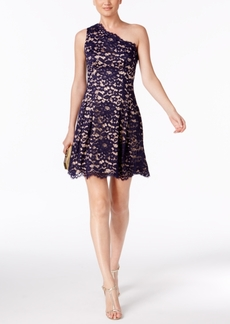Vince Camuto One-Shoulder Lace Dress