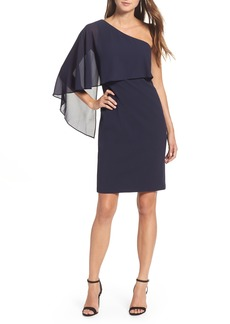Vince Camuto One-Shoulder Sheath Dress