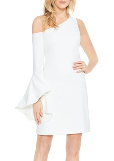 Vince Camuto One-Shoulder Sheath Dress