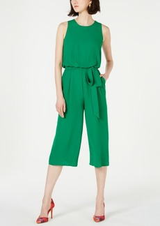 Vince Camuto Open-Back Cropped Jumpsuit