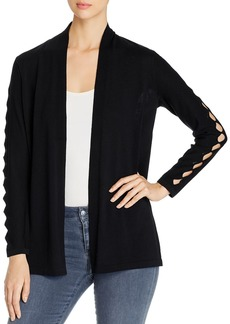 VINCE CAMUTO Open-Front Cardigan with Cutout Details - 100% Exclusive