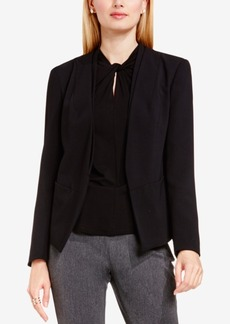 Vince Camuto Open-Front Collarless Blazer
