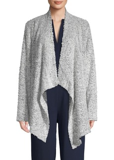 Vince Camuto Open-Front Long-Sleeve Cardigan
