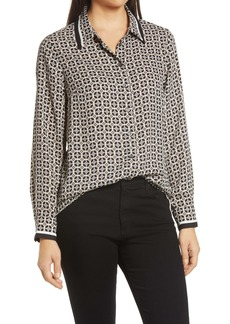 Vince Camuto Optic Print Shirt