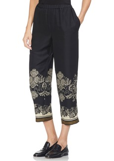 Vince Camuto Ornate Paisley Woodblock Pants