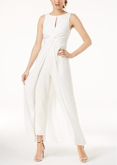 Vince Camuto Overlay Jumpsuit