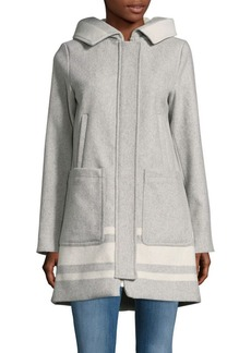 Vince Camuto Oversized Hooded Coat