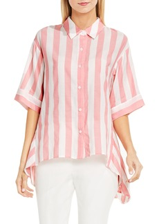 Vince Camuto Oversized Stripe Shirt