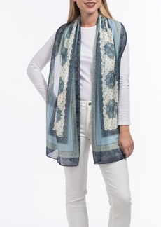 Vince Camuto Paisley Oblong Scarf
