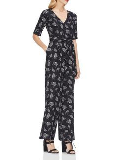 VINCE CAMUTO Paisley-Print Jumpsuit