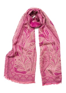 Vince Camuto Paisley Scroll Scarf