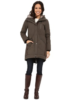 Vince Camuto Parka with Faux Fur Lined Hood J8851