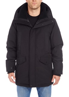 Vince Camuto Parka with Faux Shearling Lined Hood