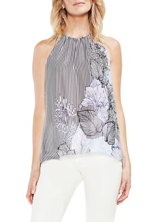 Vince Camuto Pattern Mix Sleeveless Blouse