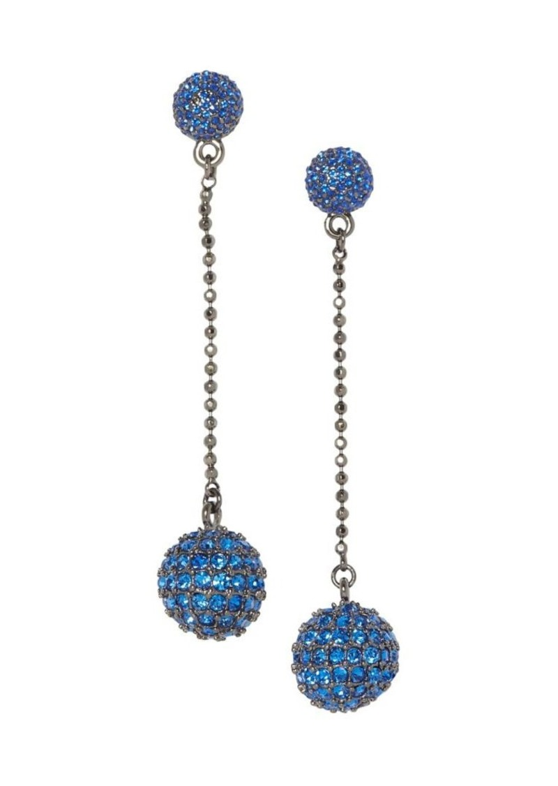 Vince Camuto Pavé Crystal Disco Ball Drop Earrings